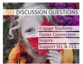Discussion Questions / Starters: Growth Mindset, Goal Sett
