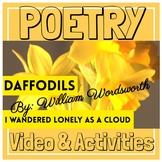 Spring Poetry Month I Wandered Lonely as a Cloud (Daffodil