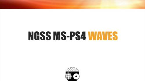 Middle School NGSS Waves MS-PS4 Powerpoint