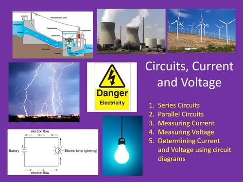 Solving Circuit Diagrams - Electricity PowerPoint Lesson & Student Notes
