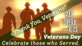 """Thank You, Veterans!"" Veterans Day Song for Reading Compr"