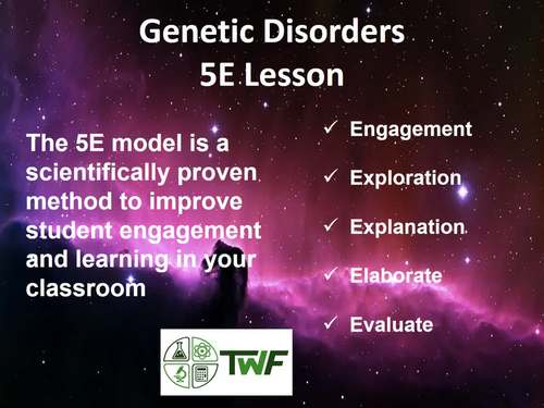 Genetic Disorders - 5E Lesson Bundle