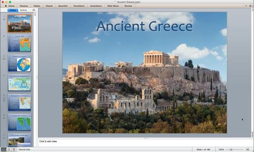 Ancient Greece History PowerPoint with Turn & Talk Questions & Suggested Videos