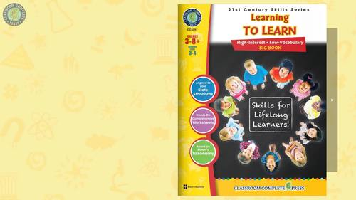 21st Century Skills - Learning to Learn BIG BOOK - Bundle