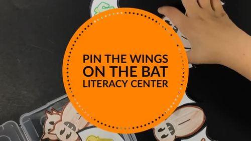 Halloween Centers Activity for Beginning Sounds