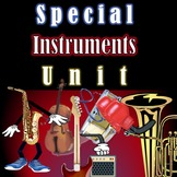 Instrument Families Review Show