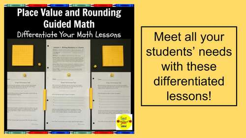 Place Value and Rounding Guided Math Lessons