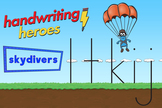 Handwriting Heroes Video: Skydivers