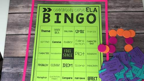 Common Core ELA BINGO