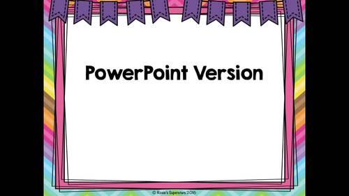 Parts of Speech Digital Game: Noun, Verb, Adjective, or Adverb?