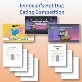 Jeremiah's Hot Dog Eating Contest - Scatter Plot Activity