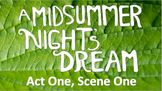 Line by Line: A Midsummer Night's Dream (1.1)
