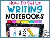 How to Set Up Interactive Writing Notebooks