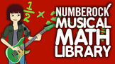 NUMBEROCK Musical Math Centers: GAMES, VIDEOS, WORD PROBLE