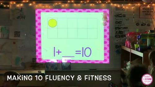 Making 10 Fluency & Fitness Brain Breaks