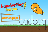 Handwriting Heroes Video: Cannon Pops