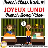 "1 French Class Transition Video ""Monday"" for CI TCI TPRS a"