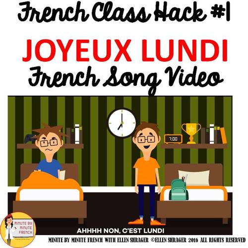 French greetings lessons bundle days 1 8 by minute by minute french product thumbnail m4hsunfo