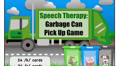 "/k/ & /g/ - ""Garbage Can Pick Up"""