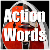 Receptive Language / Movement / Sensory Song - Action Words