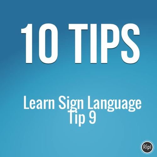 ASL Numbers 1-10 Puzzle 4 piece Sign Language Math