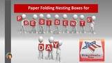 Nesting Boxes Paper Folding Project for Presidents' Day