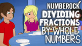Dividing Fractions by Whole Numbers Song, Game & More ♫♪ b