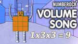 Volume Song & Activities ♫♪ Worksheets, Game and Animated Video