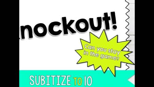 Knockout | Subitize to 10