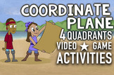 Coordinate Plane Song: w/ Game, Worksheets, Graphing Pictu