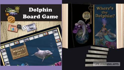 Dolphin Board Game: Fun way to teach children about dolphins