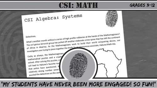 CSI: Elementary -- Unit 4 -- Lines & Angles