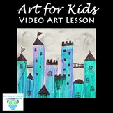 Video Art Lesson: Paint a Castle With Acrylic Paint