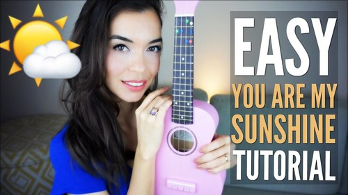 Easy You Are My Sunshine Tutorial For Ukulele With Free Pdf Tpt