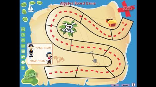 Algebra: Board Game - PC Gr. 3-5