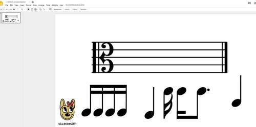 Music Notes Clip Art - Accurate Standard Musical Notation