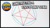 Constructing a Five-Point Star