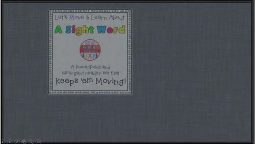 Sight Word Activity - PowerPoint and Emergent Reader for the sight word DO