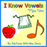 """I Know Vowels"" Phonics Music Video: Short and Long Vowel Sounds"