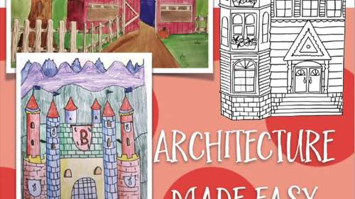Architecture Made Easy How To Draw A Barn Castle And A Victorian Home