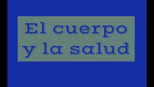 Spanish Body and Health El cuerpo y la salud Video for Comprehensible Input