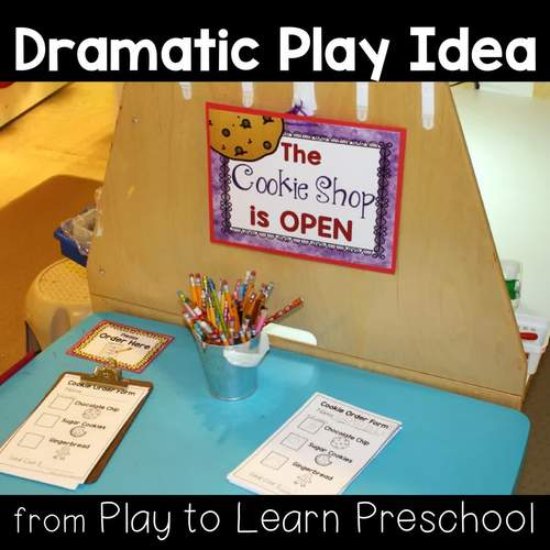 Bakery Dramatic Play By Play To Learn Preschool Tpt