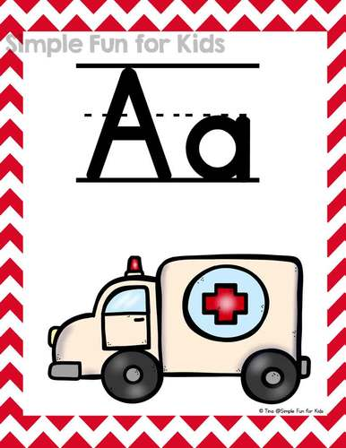 Alphabet Posters A-Z: Upper case, lower case, and mixed case versions!