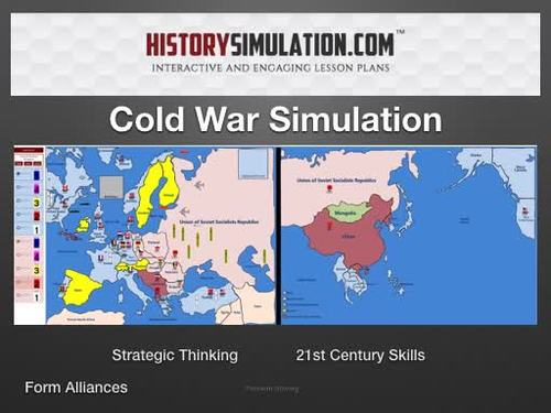 Cold War Simulation Online 1 Year Subscription