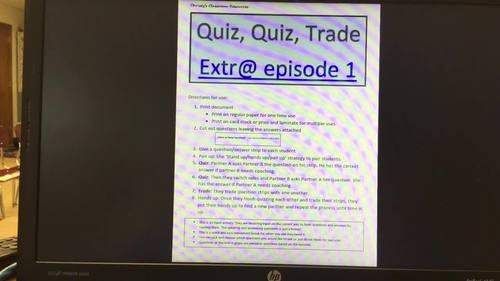 Quiz, quiz, trade Extr@ en español Episode 1 (Spanish Extra en español)