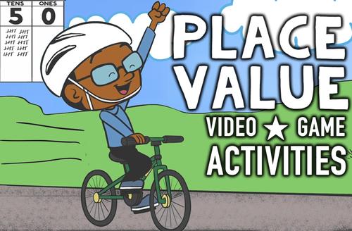 place value worksheets game animated video ones tens hundreds thousands. Black Bedroom Furniture Sets. Home Design Ideas