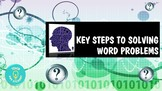 Key Steps to Solving Word Problems