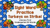 Sight Word Video & Slideshow, Kindergarten 50 Words Litera