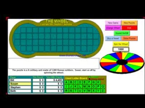Roman Vocabulary - Wheel of Rome - Bill Burton