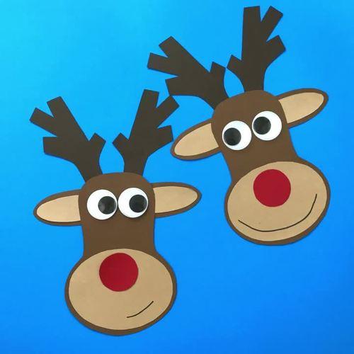 Reindeer Craft - Christmas Craftivity